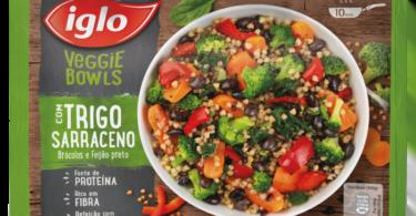 Iglo lança Veggie Bowls
