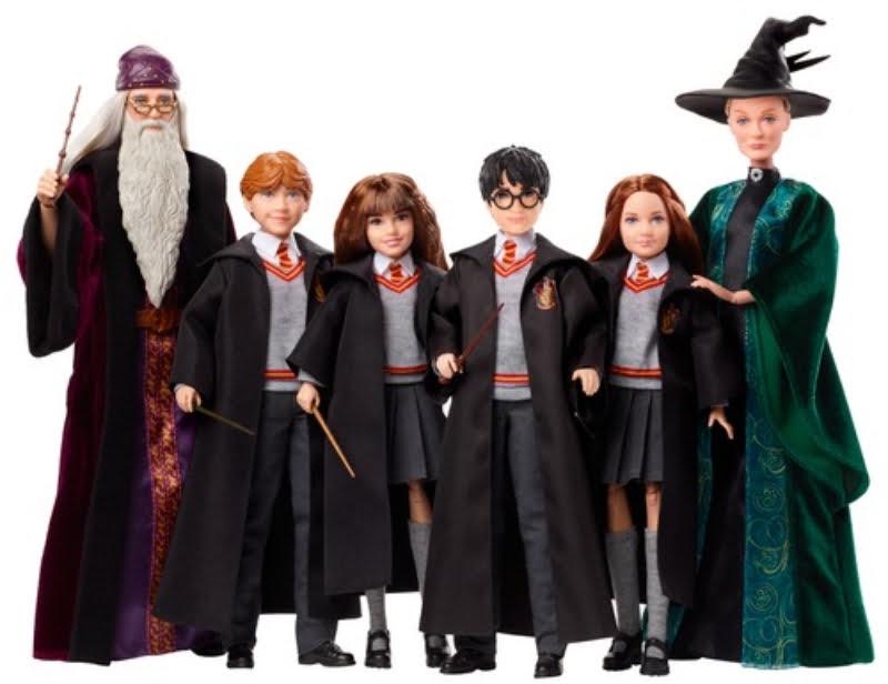Mattel lança figuras de ação do Harry Potter