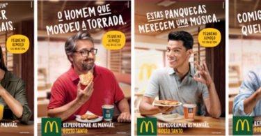 McDonald's lança campanha para promover menus de pequeno-almoço