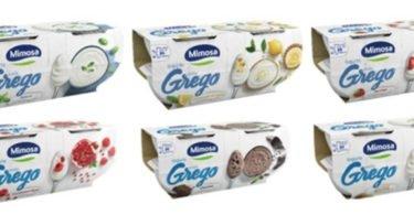 Mimosa lança gama de iogurtes gregos