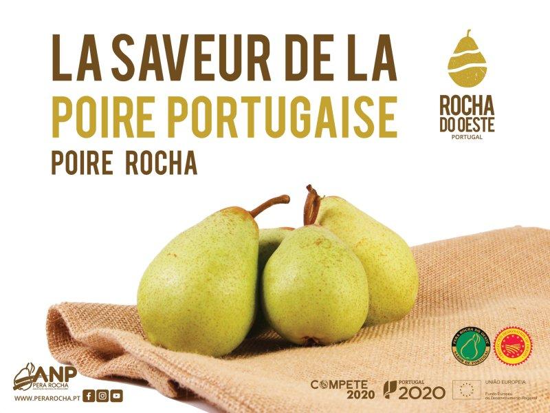 Pera Rocha parte à conquista do consumidor francês
