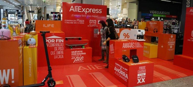 AliExpress abre loja pop-up no mercado espanhol