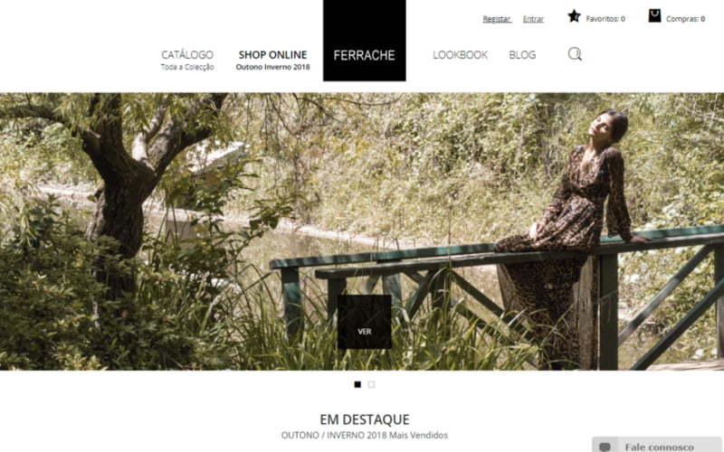 Ferrache lança loja online