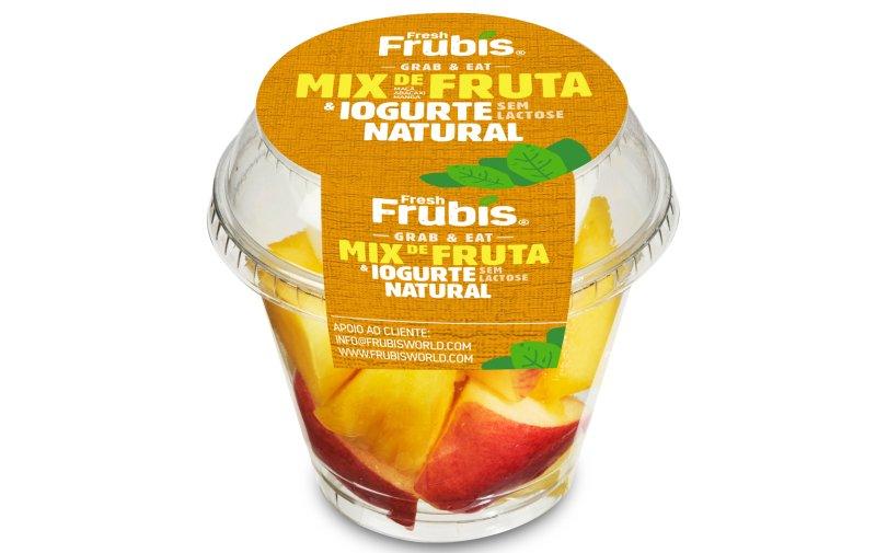 Frubis lança fruta fresca para consumo 'on-the-go'