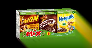 Nestlé lança packs 'grab & go' com cinco variedades de cereais