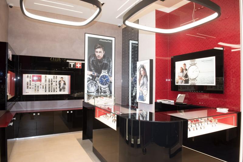 Tissot renova loja do Colombo