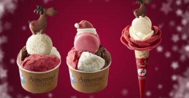 Amorino lança 'especiais de Natal'
