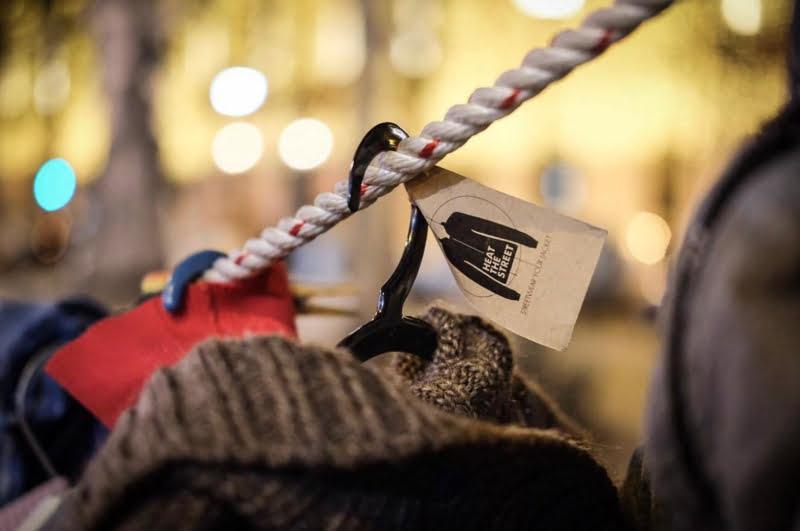 Zippy recolhe mais de 700 agasalhos para a iniciativa 'Heat the Street'