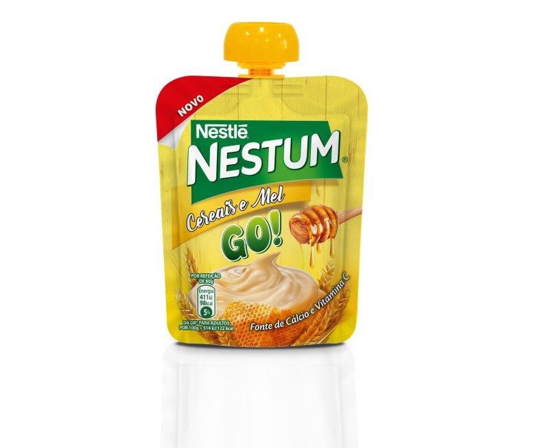 Nestlé lança Nestum Go