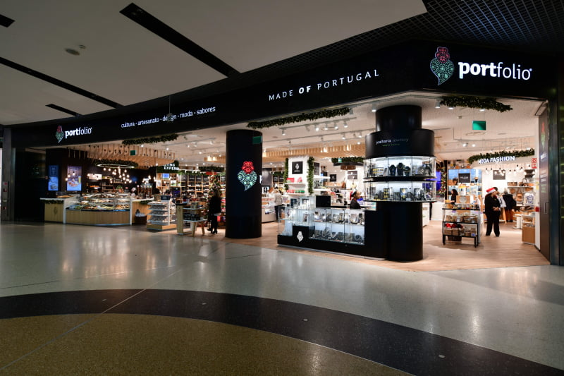 Marca 'Portfolio – Made of Portugal' renovada no Aeroporto de Lisboa