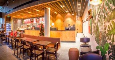 Há uma nova Starbucks em Lisboa
