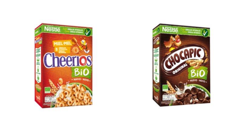 Nestlé lança cereais de pequeno-almoço Bio