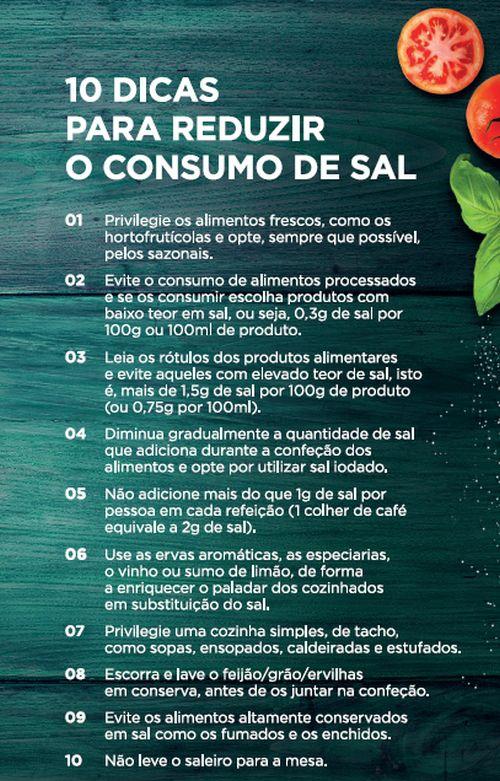 Jerónimo Martins e CUF querem menos sal em Portugal