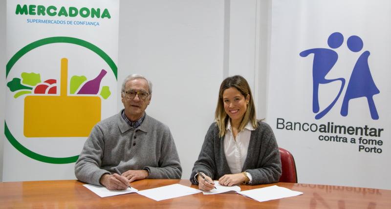 Mercadona vai colaborar com o Banco Alimentar Contra a Fome do Porto