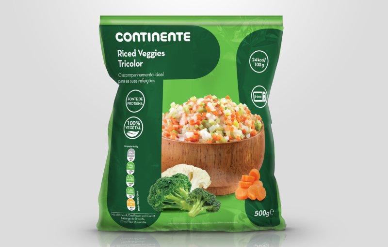 Continente lança misturas 100% vegetais