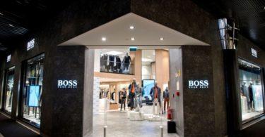 Boss renova loja nas Amoreiras