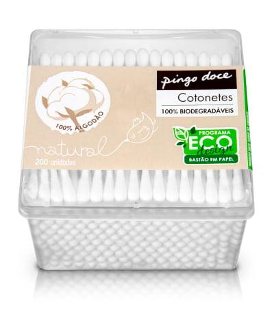 Pingo Doce reduz utilização de plástico em 25 mil quilos anuais com novos cotonetes