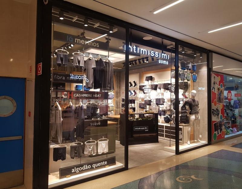Intimissimi Uomo abre loja no Centro Comercial Vasco da Gama
