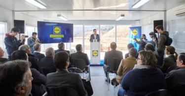 Lidl lança primeira pedra em investimento de 70 M€
