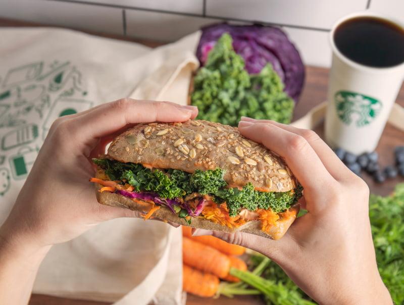 Starbucks aposta em opções vegan e vegetarianas
