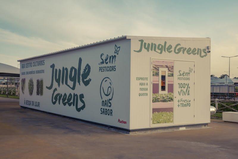 "Auchan apresenta ""verdes sem quilómetros"""