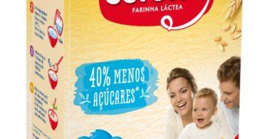 Fruto da investigação e desenvolvimento da Nestlé chega uma nova versão da papa Cerelac com 40% menos açúcares, comparativamente com a receita atual.