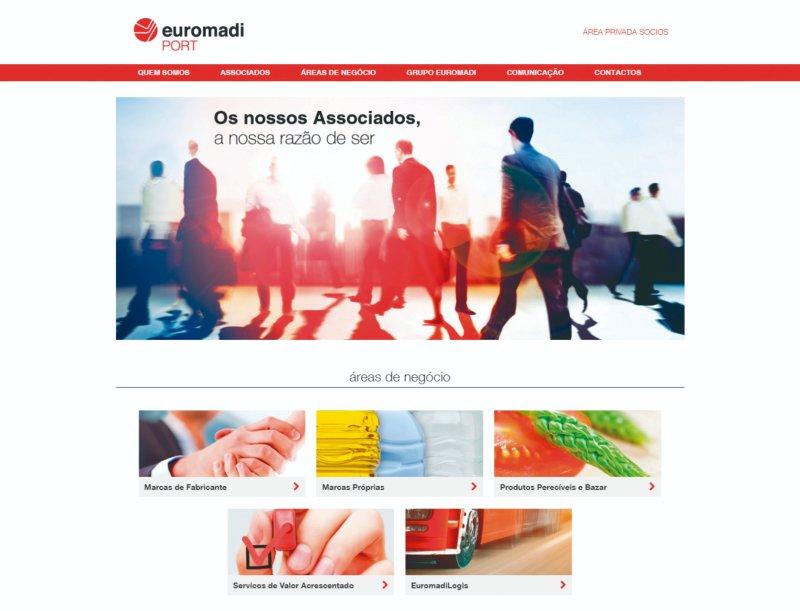 Euromadi Portugal tem novo site