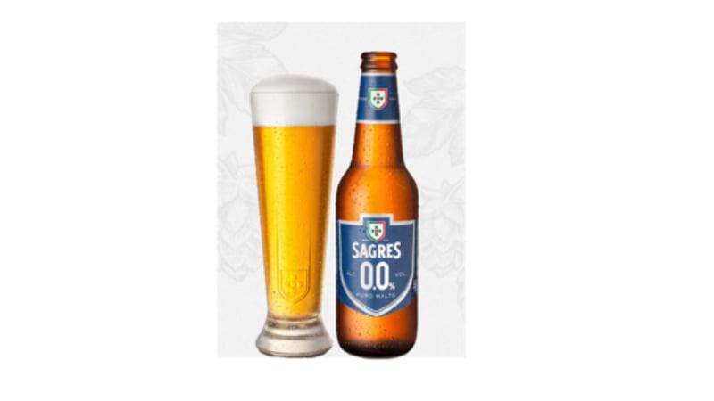 Sagres lança cerveja 0.0