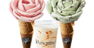 Amorino lança gelados com sabor a 'primavera'