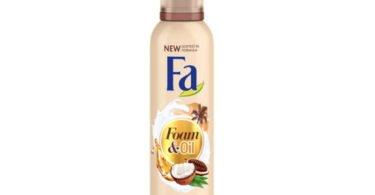 Fa lança edições limitadas de espumas de banho Foam & Oil