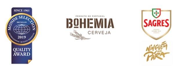 Sagres e Bohemia conquistam Ouro no Monde Selection 2019