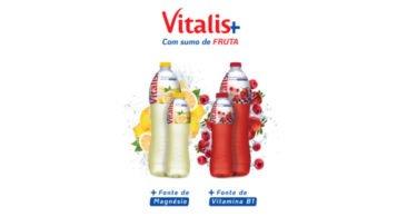 Vitalis lança gama de águas funcionais