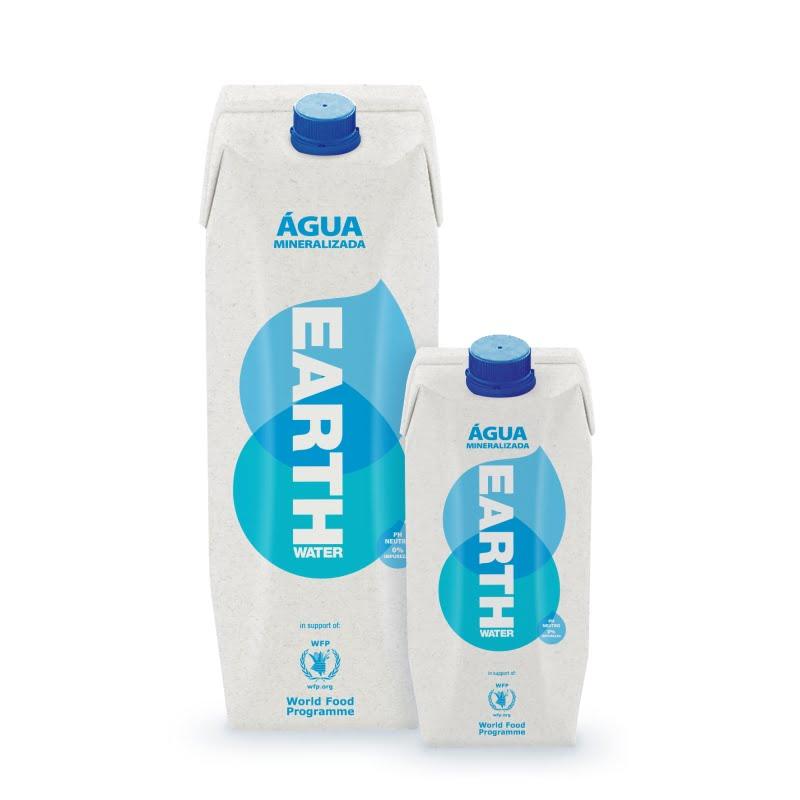 Earth Water é a primeira água em Portugal numa embalagem de cartão da Tetra Pak