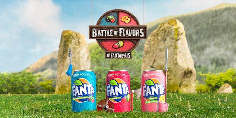 Consumidores vão poder escolher o sabor da nova Fanta