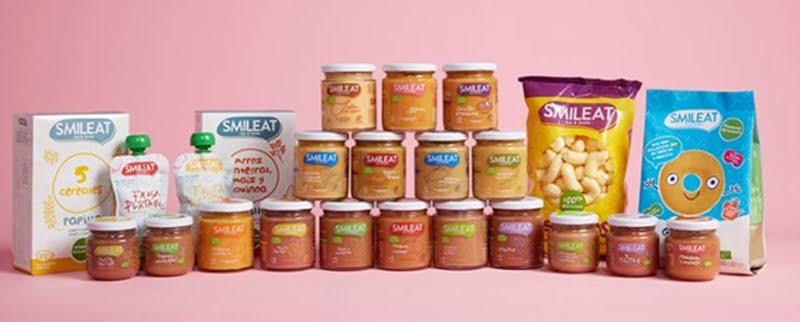 Nova marca de comida infantil e snacks 100% biológica