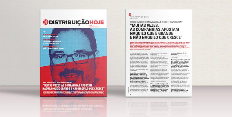 Na DH de maio: Entrevista exclusiva ao futuro CEO da The Kraft Heinz Company, Miguel Patrício