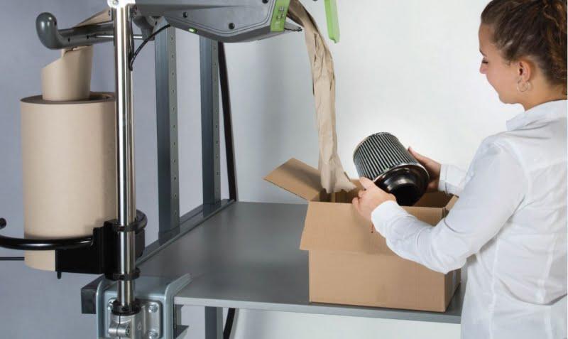 FROMM inova na produção de papel para proteção das mercadorias