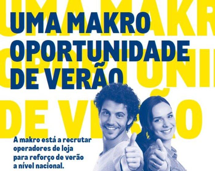 Makro Portugal está a recrutar em todo o país
