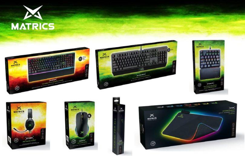 Matrics é a nova marca de gaming portuguesa