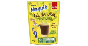 "Nesquik agora é ""All Natural"""