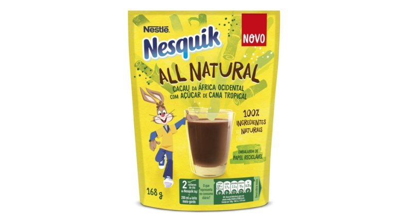"Nesquik agora é ""All Natural"""