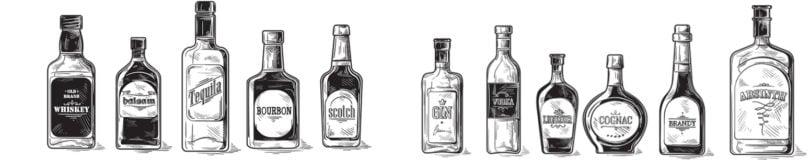 Produtores europeus fornecem valor energético das bebidas espirituosas
