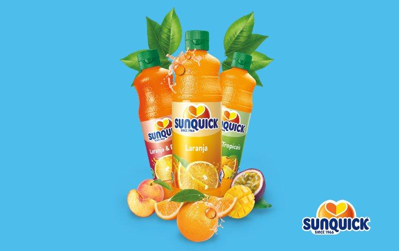 Sunquick tem dois novos sabores
