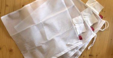 Auchan lança sacos de poliéster reutilizáveis para frutas e legumes