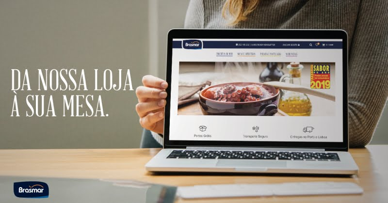 Brasmar com plataforma de e- commerce e três novas gamas de produtos