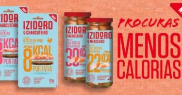 Izidoro lança produtos com menos calorias e mais proteína