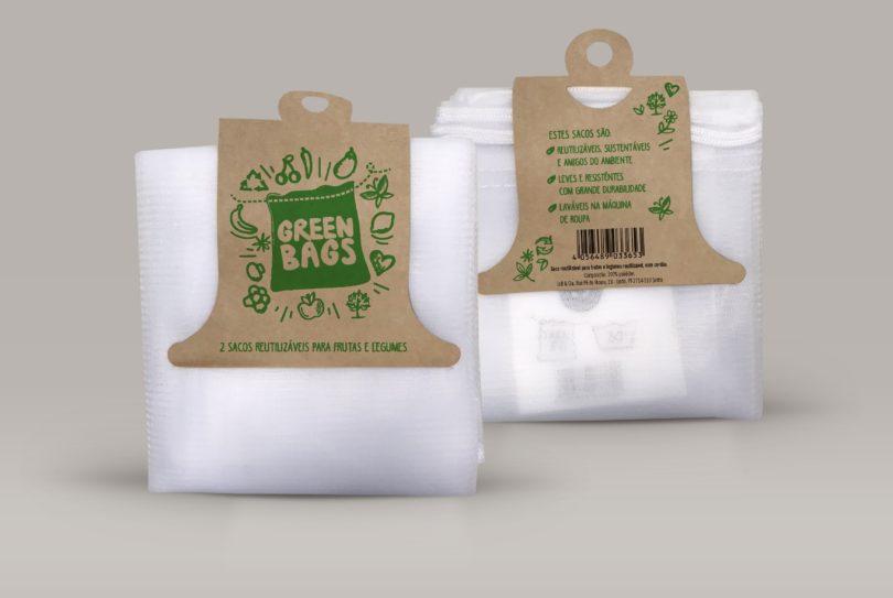 Frutas e legumes do Lidl têm agora sacos reutilizáveis e 100% recicláveis