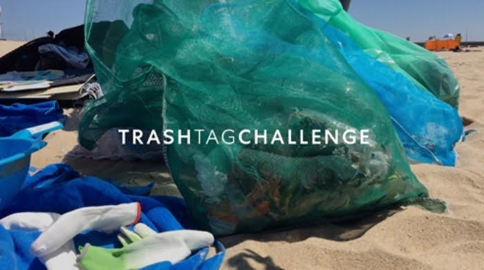 Zippy adere ao 'Trash Tag Challenge'