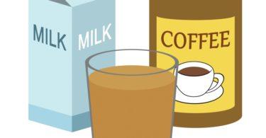 Leite, mas com café solúvel