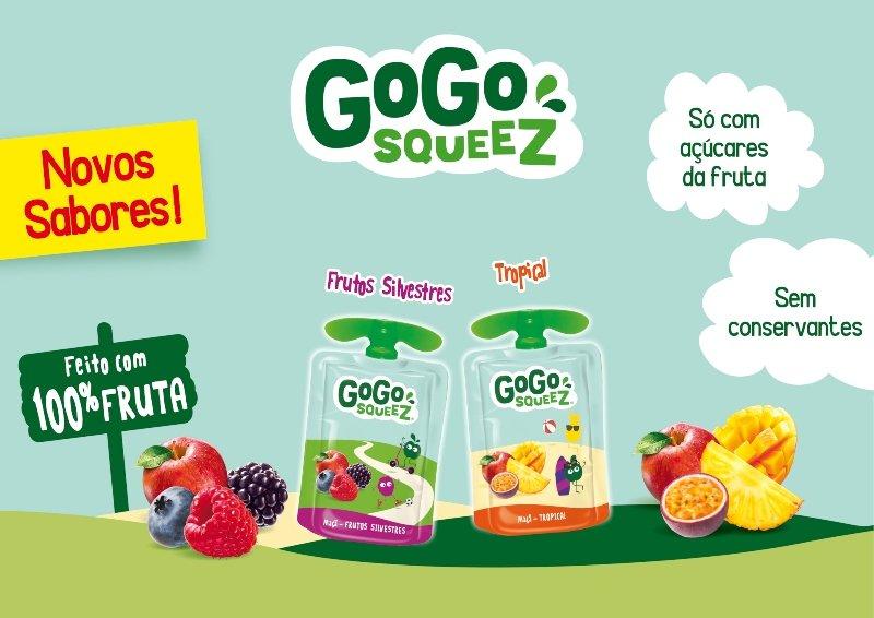 GoGo squeeZ lança duas novas referências
